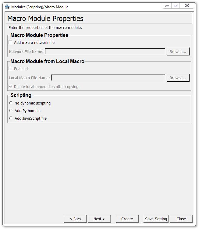 23 3  Modules (Scripting) Wizard