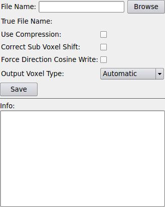 itkImageFileWriter — MeVisLab documentation